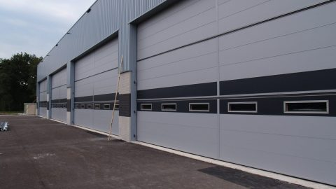 Portes anti-effraction - Portes de hangar - Protec Industrial Doors