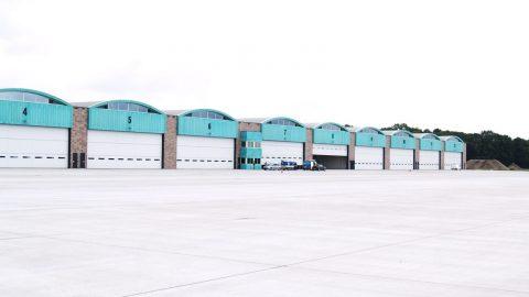 Portes de hangar - Anti-effraction - Protec Industrial Doors