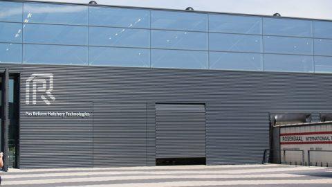 Portes en alignement avec la façade - Protec Industrial Doors