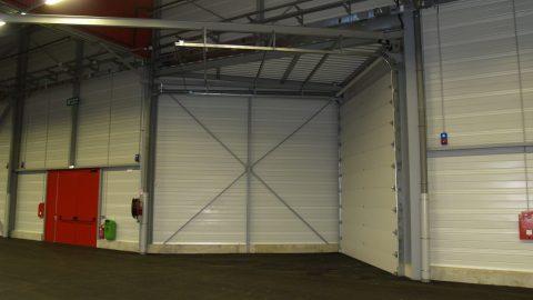Portes coupe-feu - Portes sectionnelles insonorisantes
