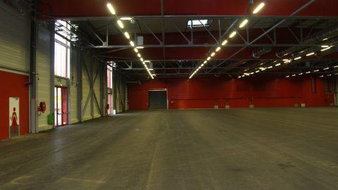 Salles de spectacle à Poitiers - Portes sectionelles Protec Industrial Doors