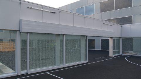 Portes spéciales en verre par Protec Industrial Doors