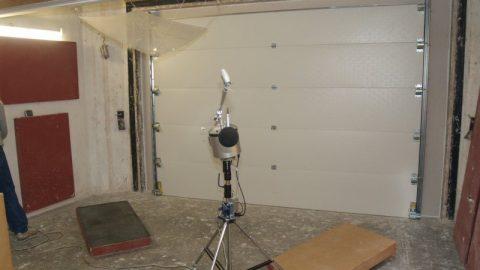 Porte de test de son - Peutz - Protec Industrial Doors