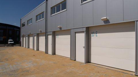 Portes sectionelles - La protection contre l'incendie - Protec Industrial Doors
