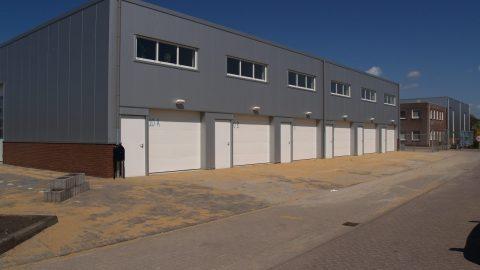 Portes sectionelles - Résistance au feu - Protec Industrial Doors