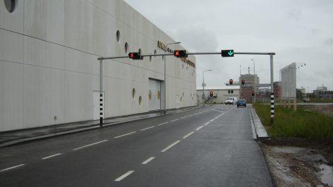 Porte coulissante en façade - Porte coulissante - Protec Industrial Doors