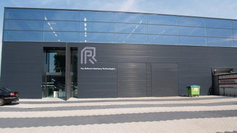 Portes Sectionelles en alignement avec la façade - Protec Industrial Doors
