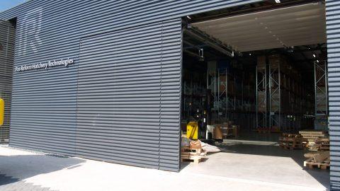 Portes sectionelles - Pas Reform - Protec Industrial Doors