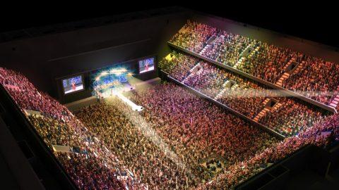 Concert dans le Ziggo Dome - Acoustique de qualité supérieure - Protec Industrial Doors