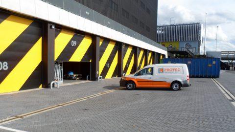 Ziggo Dome - Portes Sectionelles - EN-ISO 10140-3 - Protec Industrial Doors