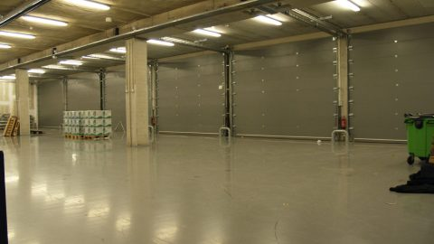 Ziggo Dome - Portes sectionelles insonorisantes - Protec Industrial Doors