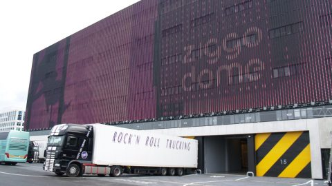 Ziggo Dome - l'isolation phonique - Protec Industral Doors
